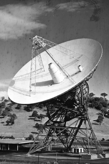 Une antenne parabolique du Canberra Deep Space Communication Complex en Australie.