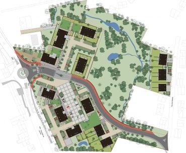 Place publique, résidence séniors, commerces: un vaste projet pour Hamme-Mille