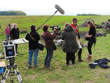 Making of du film de Gerard Corbiau sur Waterloo