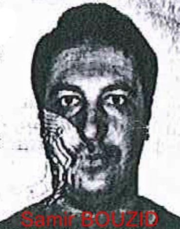 L'avis de recherche de Samir Bouzid, dont le vrai nom est Mohamed Belkaïd