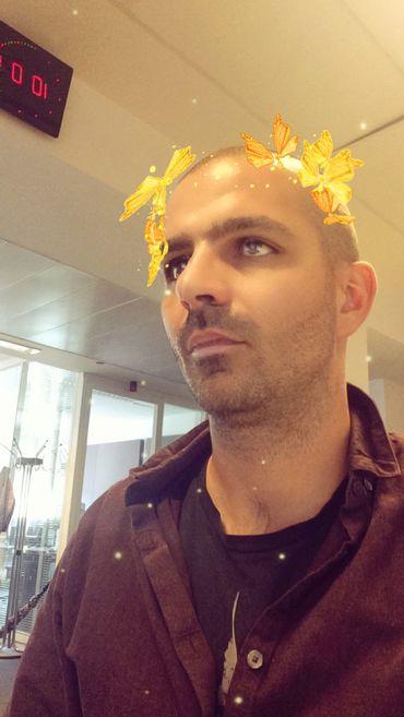 La couronne de papillons jaunes, un classique qui donne l'air vraiment profond