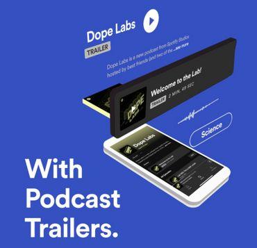 Spotify repense ses pages dédiées aux podcasts