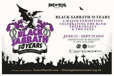 Black Sabbath: expo pour les 50 ans