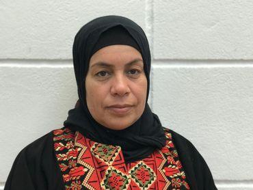 Fatma Nawaja vit dans le village de Susya