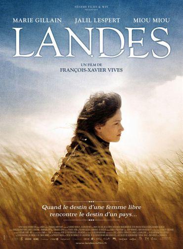 Marie Gillain a interprété des scènes du film Landes au Château de Louvignies