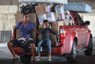 De nombreux Vénézuéliens obligés de quitter leur domicile à cause de la crise économique.