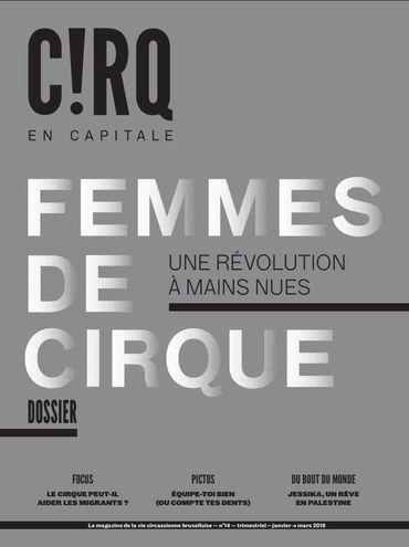 C!RQ en CAPITALE  n° 14 - Femmes de Cirque