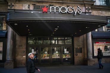 """Comme les autres, la chaîne """"Macy's"""" a fermé ses magasins à New York."""