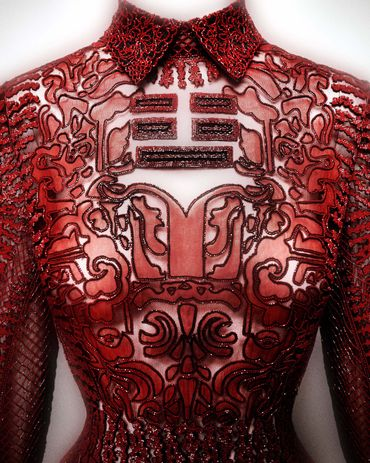 """China: Through the Looking Glass"": Robe de soirée, Valentino SpA (Italien, fondé 1959), Collection ""Shanghai"" 2013"