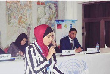 Abeer veut faire entendre la voix des femmes de Gaza