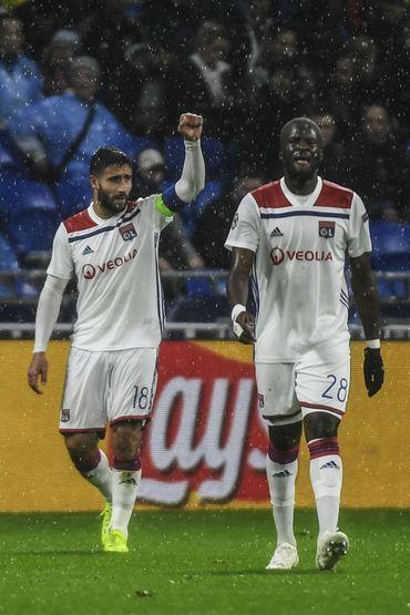 Nabil Fekir et Tanguy Ndombele, les deux buteurs lyonnais