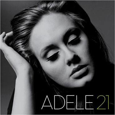 """""""21"""" d'Adele s'est imposé comme la meilleure vente d'albums sur iTunes en 2011 et 2012."""