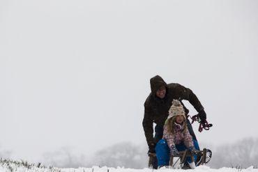 Joies de l'hiver en Campine, ce dimanche 7 février