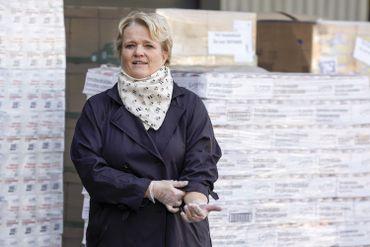 Nathalie Muylle, ministre fédérale (CDv) de l'Economie