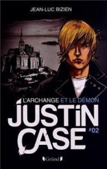 Jean-Luc Bizien, « Justin Case #1 & #2 », Grün [Thriller Jeunesse]