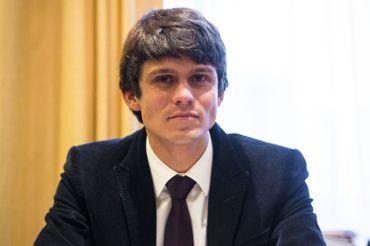 Benjamin Dalle, ministre des Médias et de Bruxelles.