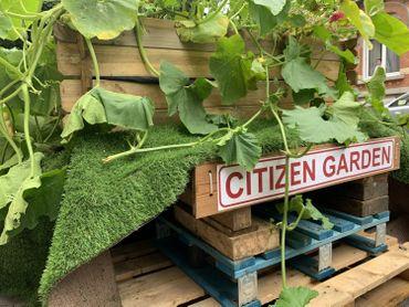 Le Citizen Garden, ramené par les voisins, a retrouvé son emplacement