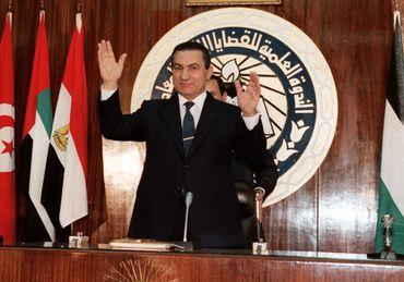 Hosni Moubarak en 1988