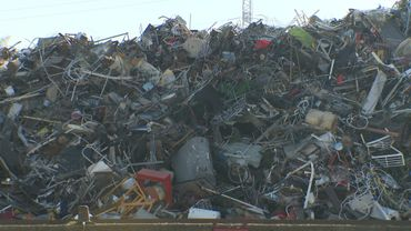 Chaque année, on recycle 3,2 millions de tonnes de ferraille en Belgique
