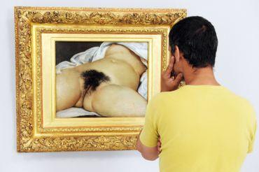 """""""L'Origine du Monde"""", de Gustave Courbet, signalée """"indésirable"""" de façon récurrente sur Facebook"""