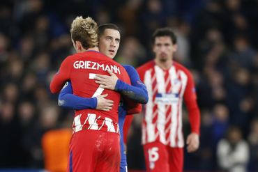 Eden Hazard et Antoine Griezmann