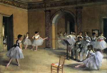 Edgar Degas - Le foyer de danse de l'Opéra