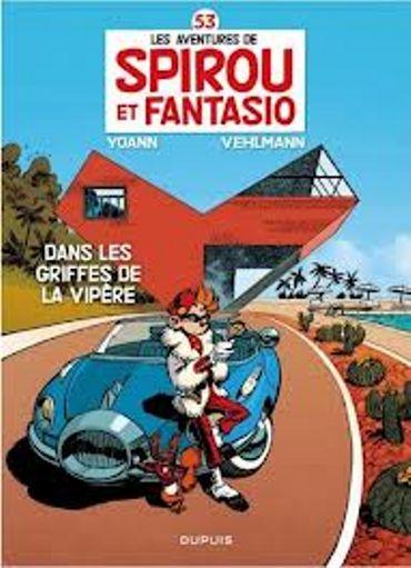 Spirou et Fantasio  - Tome 53 - chez Dupuis