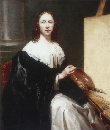 Michaelina Wauthier faisait également des portraits d'hommes importants.