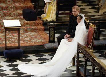 Voici la robe portée par Meghan Markle pour son mariage avec le prince Harry (vidéos)