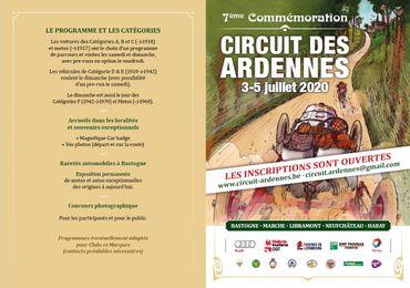 Inscrivez-vous au circuit des Ardennes