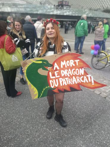 La mort, le dragon du patriarcat