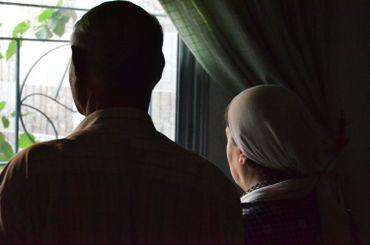 Famille ayant fui Idleb et dont la fille a été enlevée par un groupe rebelle