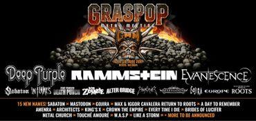 Graspop: de nouveaux noms