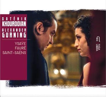 Le nouveau disque de Saténik Khourdoïan et Alexander Gurning