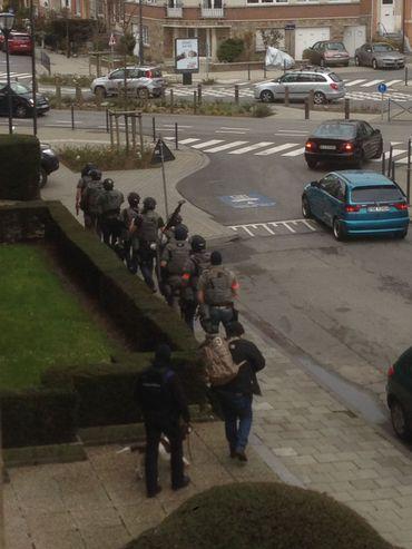 Perquisitions à Schaerbeek, avenue des Cerisiers: pas d'interpellation