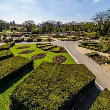 A deux pas du Domaine royal de Laeken, les Jardins, de majestueux espaces de verdure