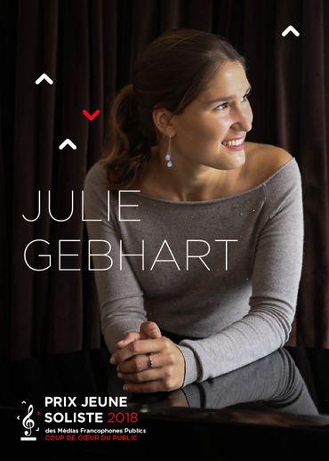 """Lea Desandre et Julie Gebhart remportent les Prix """"Jeune Soliste"""" des Médias francophones publics"""