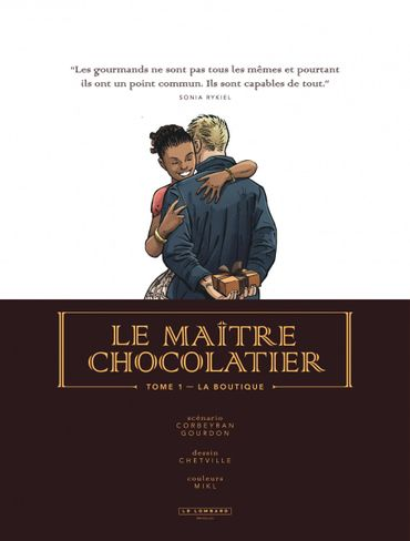 Le Maître Chocolatier: Une bande dessinée qui s'interesse à Bruxelles de très près...
