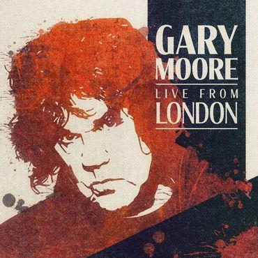 Un album live inédit de Gary Moore en janvier