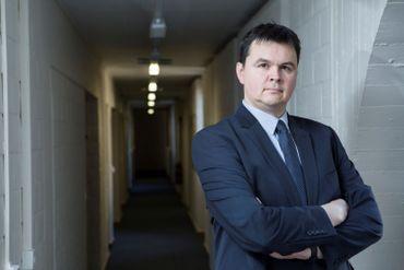 Tanguy Struye, spécialiste des relations internationales à l'UCLouvain