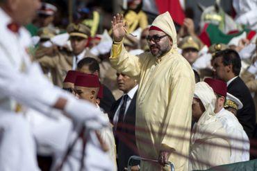 Le roi Mohammed VI à Tétouan, ce 31 juillet 2019
