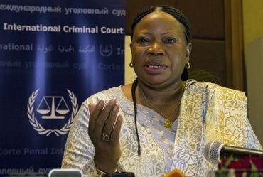 La procureur de la Cour pénale internationale Fatou Bensouda.