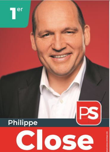 Affiche Philippe Close