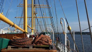 Le Mercator est devenu un symbole d'Ostende