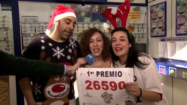 Loterie espagnole: une journaliste gagne en direct et fait le buzz