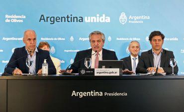 Conférence de presse des autorités argentines, ce 08 mai à Buenos Aires