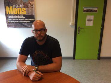 Jean-Xavier Leroy est médiateur au service prévention de la ville de Mons