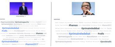 Valls ou Hamon : comment le débat s'est joué sur Twitter