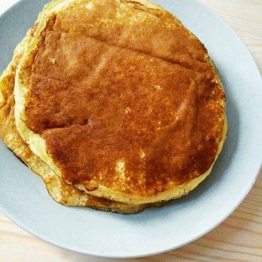 Nos pancakes sont dorés, moelleux et savoureux !