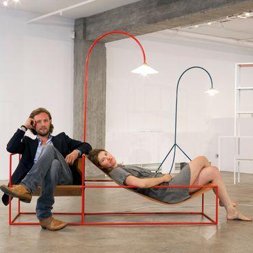 Portrait de Hannes Van Severen en Fien Muller, muller van severen